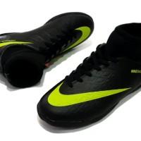 sepatu futsal nike hypervenom made in vietnam black red 39-44