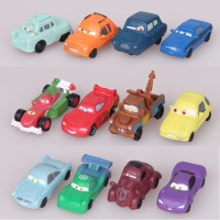 Mainan Anak - Pixar Car Figurines 12pcs Set
