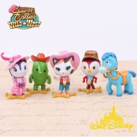 Mainan Anak - Sheriff Callie's Wild West Figurines 5pcs Set
