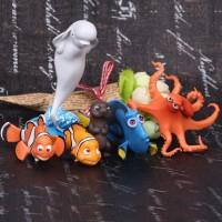 Mainan Anak - Finding Nemo Figurines 6pcs Set