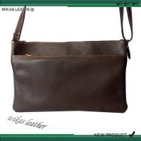 Hand Bag/ Clutch Premium Kulit Sapi Asli Mel Wks Lrs-390