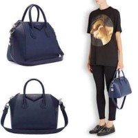 Givenchy antigona small navy