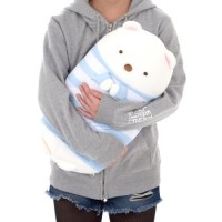 Sumikko Gurashi Shirokuma no Tomodachi Cooling Hug Plush