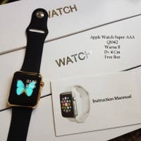 Jam Tangan Wanita / Jam tangan Apple Watch Black Rose Color Fashion