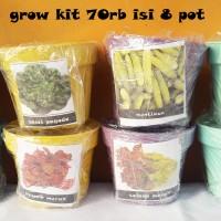 Jual Grow Kit 70rb isi 8 pot (promo) Murah