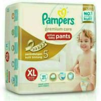 Jual Pampers Premium Care Active Baby Pants XL21 Murah