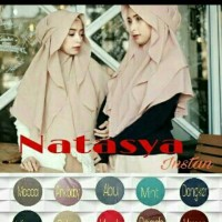 jilbab instan syar'i murah bandung/natasya hijab