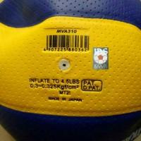 volley / voly / bola volly mikasa mva 310 bintik bahan pu lembut