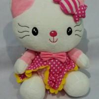 Jual Boneka Hello Kitty Polkadot Pita Murah