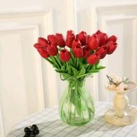 Jual Bunga Tulip Latex Merah Murah