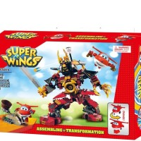HADIAH/ MAINAN ANAK/ BLOCK & LEGO/ BLOCKS SUPER WINGS 423PC - 161145 (