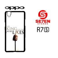Casing HP Oppo R7S Game of Thrones King Custom Hardcase Cover
