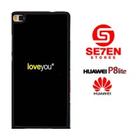Casing HP HUAWEI P8 LITE love you wallpaper Custom Hardcase Cover