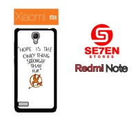 Casing HP Xiaomi Redmi Note 1 Hope is The Only Thing Custom Hardcase