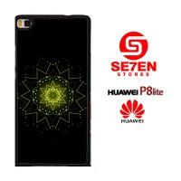 Casing HP HUAWEI P8 LITE Green Star Custom Hardcase Cover