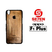 Casing HP Oppo F1 Plus (R9) Grunge Wood Print Custom Hardcase Cover