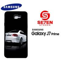 Casing HP Samsung J7 Prime White m3 Custom Hardcase Cover