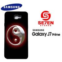 Casing HP Samsung J7 Prime Yin Yang Custom Hardcase Cover