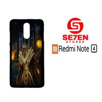 Casing HP Xiaomi Redmi Note 4 dota 2 fire Custom Hardcase