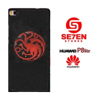 Casing HP HUAWEI P8 LITE game of thrones Targaryen Custom Hardcase Cov