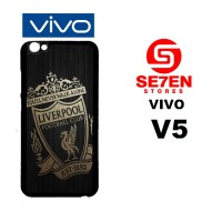Casing HP VIVO V5 gold liverpool logo Custom Hardcase Cover
