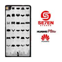 Casing HP HUAWEI P8 LITE Evolution of batman Custom Hardcase Cover