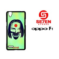 Casing HP Oppo F1 (A35) katana suicide squad Custom Hardcase Cover
