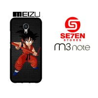 Casing HP MEIZU M3 NOTE Dragon Ballz Goku 3 Custom Hardcase Cover