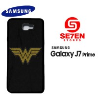 Casing HP Samsung J7 Prime wonder woman logo 1 Custom Hardcase Cover