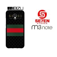 Casing HP MEIZU M3 NOTE Gucci Inspirated Custom Hardcase Cover