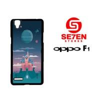 Casing HP Oppo F1 (A35) Disney Star Wars Castle Custom Hardcase Cover