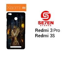 Casing HP Xiaomi Redmi 3 Pro 3S dota 2 fire Custom Hardcase