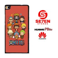 Casing HP HUAWEI P8 LITE Lovely One Piece Cartoon Custom Hardcase Cove