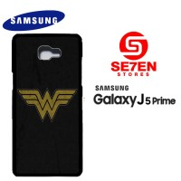 Casing HP Samsung J5 Prime wonder woman logo 1 Custom Hardcase Cover