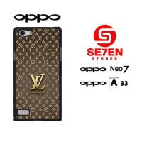 Casing HP Oppo Neo 7 (A33) Louis Vuitton Wallpaper 3 Custom Hardcase C