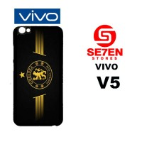 Casing HP VIVO V5 Gold Chelsea Custom Hardcase Cover