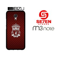 Casing HP MEIZU M3 NOTE Liverpool Red YNWA Custom Hardcase Cover