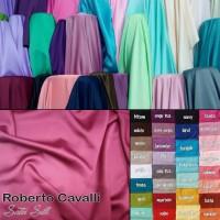 Bahan Kain Satin Silk Roberto Cavalli Cavali Premium Furing Gamis