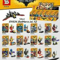 Jual lego kw minifigures super hero batman movie SY 634 superhero bat hero Murah