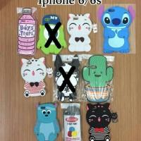TURUN HARGA!!! CARTOON 4D CASE untuk IPHONE 6/6S