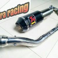 harga Knalpot Racing Akrapofic For Mega Pro Primus Tokopedia.com