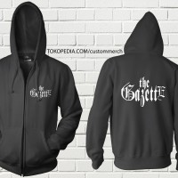 SWEATER HOODIE ZIPPER THE GAZETTE