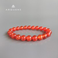 Jual Gelang Red Carnelian 8mm / Batu Alam Asli / Natural Gemstone Murah