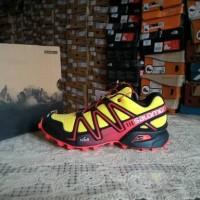 Sepatu Salomon Speedcross 3 Yellow Red. bukan asolo Arcteryx Mammut