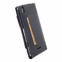 KRUSELL Kalmar Wallet Case Sony Xperia T3 Original - Black