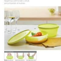 Modular Bowl Set Tupperware Wadah Penyimpanan Fresh Lime (2 pcs)