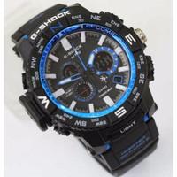 Jam Tangan G-Shock Warna Black Blue/ Cool/ Fashionable