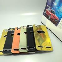 Sarung Hardcase Motomo Mirror Case Aluminium Lenovo A6020 - K5 Plus