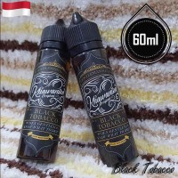 Khawanika 60ml Eliquid Vape - Black Tobacco (Premium Liquid)
