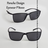Kacamata Porsche Design Eyewear P'8000 Frame P8000 SUNGLASSES Hitam